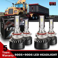 Hi/Low Beam LED Conversion Kit White for 1998-2015 MACK Vision CX CXN CV Truck