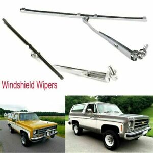 Für TRAXXAS TRX-4 T4 RC4WD Chevrolet K5 Blazer Simulation Windshield Wipers 2PCS
