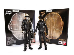 Daft Punk Set of x2 Bandai Collectible Figures