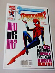 WHAT IF #105 NM 1st Appearance Spider-Girl 1ST May Parker 1998 Mayday! Nice Book