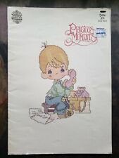 1980 PRECIOUS MOMENTS Dear Jon • 18 Cross Stitch Patterns by Gloria & Pat