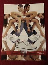 Unltd By Marc Ecko Sneakers Nude Woman 2005 Ad/Poster Promo Art