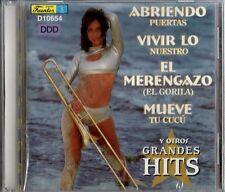 Abriendo Vivir Lo El Merengazo Mueve Latin Music CD New