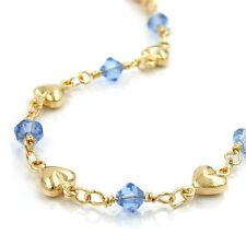 Armbänder ohne Steine aus Gelbgold mit echtem Metall für Damen