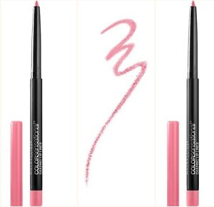 2 MAYBELLINE COLORSENSATIONAL SHAPING LIP LINER Palest Pink 135 FREE SHIPPING