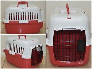 EUROPET BERNINA Pet Carrier Transport Box - EUC