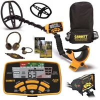 Garrett Ace 400 Metal Detector w/ Free Accessory Bundle Plus Back Pack