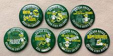 2007 COMPLETE SET Oregon DUCKS Football Bi-Mart Spirit PINS Lot of 7  PAC 10