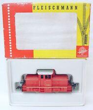 Fleischmann HO 1/87 DB HISTORIC DIESEL LOCOMOTIVE Red 1306 Nice! NMIB`70!