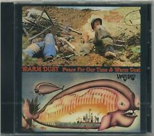Warm Dust - Peace for Our Time + Same - rare Prog Psyche Rock 2 on 1 CD 1971 72
