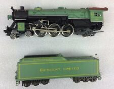 Rivarossi Boxed 1285 Southern Pacific Green engine 4-6-2 & Tender HO gauge