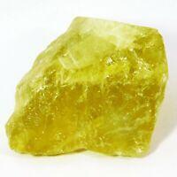 Natural Certified 531 CT Lemon Topaz Rough Loose Gemstone