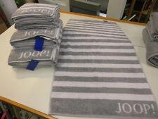 Joop! Handtuch 50 x 100cm Classic Stripes 1610 Fb. 76 grau Neu