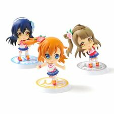 Love Live! Chibi Kyun Chara Happy maker! Vol.1 x3 Figures BANPRESTO. Nuevo, New.