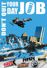 "NEW FRESH 2 DVD ""DON'T QUIT YOUR DAY JOB"" FRESH2-DVD 592000 RAVE X FILMS"