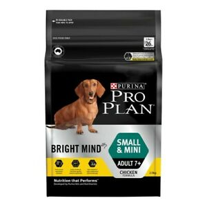 Pro Plan Bright Mind Small and Mini Adult Senior Dog 7+ Years 2.5kg