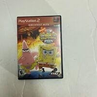 The SpongeBob SquarePants Movie Playstation 2 PS2 Complete, CIB Free Shipping