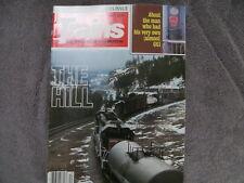 Trains Magazine DECEMBER 1981 PEORIA ROCKET  GG1