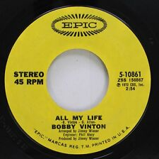 Pop 45 Bobby Vinton - All My Life / Sealed With A Kiss On Epic
