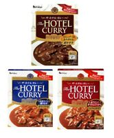 House, 'Hotel Curry' Retort Curry, Medium Hot, 3 Kinds, Japan