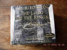The Lord of the Rings Tolkien The Two Towers 14 CDs Rob Inglis complete