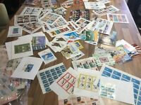 20 Different World Mini-sheets Stamp Collection all different REDUCED
