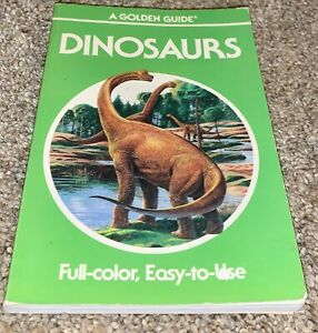 Collectible,Book,Golden Guide,Vintage,Dinosaurs,1990,EXC