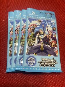 Weiss Schwarz That Time I Got Reincarnated As A Slime 4x Sealed Booster Packs