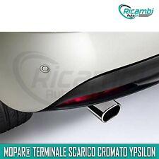 Terminale di Scarico ORIGINALE Lancia Nuova Ypsilon cromato rear 50926445 new it