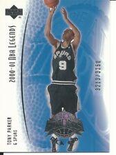 Tony Parker 2001-02 Upper Deck Legends #105 Rookie Card