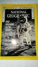 NATIONAL GEOGRAPHIC JULY 19 INCLUDING COPY OF ORIGINAL APOLLO 11 MOON LANDINGS