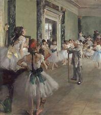 Degas-A Aula de Dança Ed. 300 uds Printed Signature Number pencil - UK