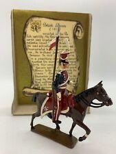 "CBG Mignot ""Polish Lancer 1812"" on Horse Set# 229 54mm Made in France"