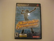 Karaoke Revolution Playstation 2 Complete PS2