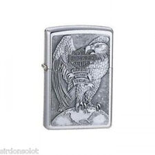 Harley Davidson Street Chrome Zippo Lighter HD EAGLE AN GLOBE OWN THE BEST WOW