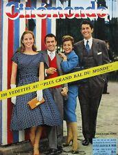 Cinémonde n°1248 - 1958 - Jean Claude Pascal - Daniella Rocca - Jeanne Moreau -