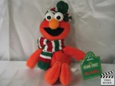 Elmo - holiday beanbag; Sesame Street; Applause; scarf and hat for winter snow