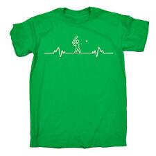 Cricket Heart Beat Pulse T-SHIRT Bat Sport Accessories Tee Stumps fathers day