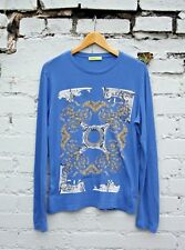 VERSACE Jeans Long Sleeve Casual Top T-Shirt Size L