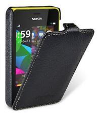 Melkco Premium Leather Case for Nokia Asha 501 - Jacka Type (Black LC)