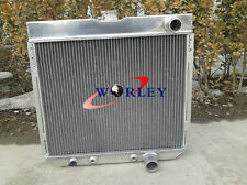 3 Rows for 1963-1969 Ford Fairlane 1967-1969 68 Ford Mustang Aluminum Radiator