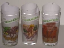 1980,1981 and 1982 BELMONT STAKES GLASSES