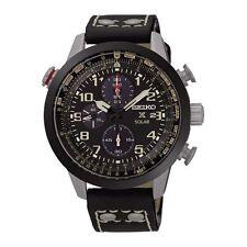 Schwarze Seiko Armbanduhren