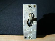 WWII Aircraft Switch circuit breaker Square D Rat Rod