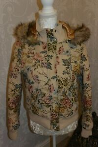 Bellfield Padded tapestry fabric Jacket- size 10 small
