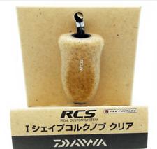 Daiwa RCS Real Custum System I-Knob clear cork  neu/OVP NiB 1pcs