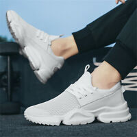 Mens Ultralight Shoes Casual Running Sneakers Sports Fashion Breathable Athletic