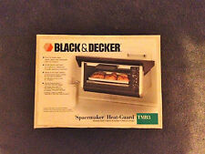 Brand New Black & Decker TMB3 SpaceMaker Heat Guard Mounting Hood ONLY