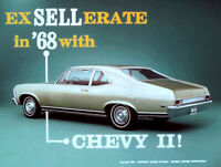 1968 Chevrolet Chevy II Ex Sell Erate In 68 Dealer Promo - Color Film MP4 CD