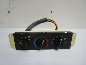 Jeep Wrangler TJ 99-06 Heater Heat Fan Climate Control Switch NO AC  519